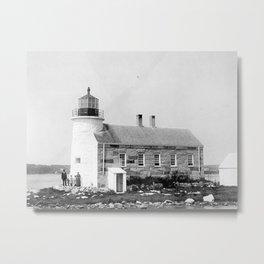 Prospect Harbor Point Lighthouse  Metal Print