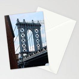new york city ... manhattan bridge II Stationery Cards