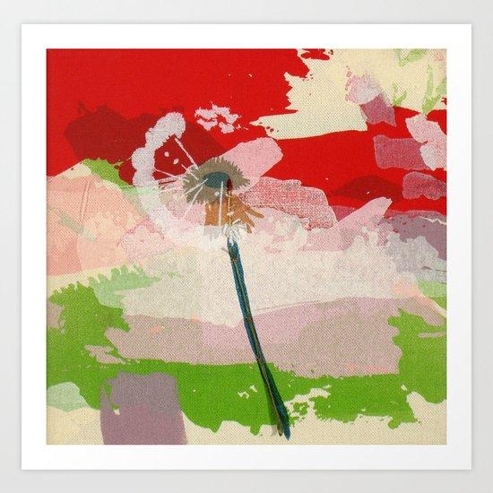 scatter, 3 Art Print