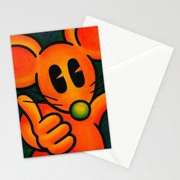 Happy Happy Rat OKAY Stationery Cards