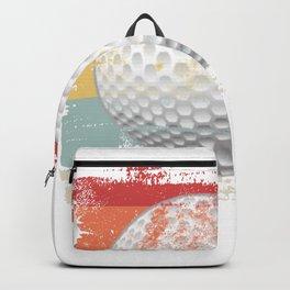 Retro Golf Ball Backpack