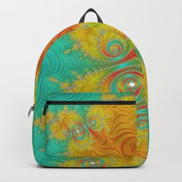 Under the Mexican Sun - Fractal Art Backpack