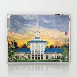 Papeete Tahiti LDS Temple Laptop & iPad Skin