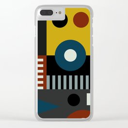 SPEECH AT THE BAUHAUS Clear iPhone Case