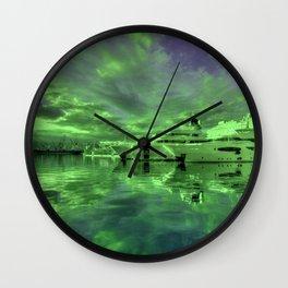Rijeka Green Wall Clock