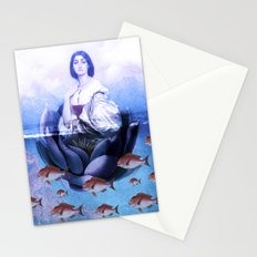 Water-Lily Stationery Cards