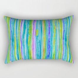 Into the Emerald Rectangular Pillow