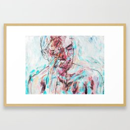 Unfazed Framed Art Print