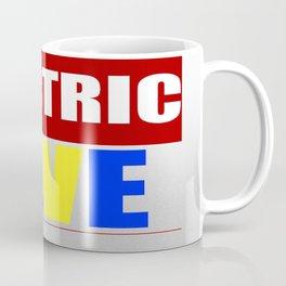 The Eletric Blve / rainbow Logo Coffee Mug