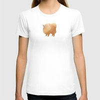 pomeranian T-shirts featuring Pomeranian by 52 Dogs