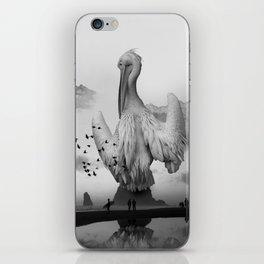 Sea Bird Free Bird iPhone Skin
