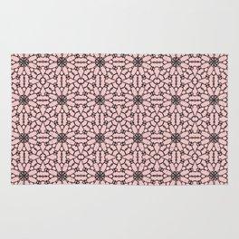 Rose Quartz Lace Rug
