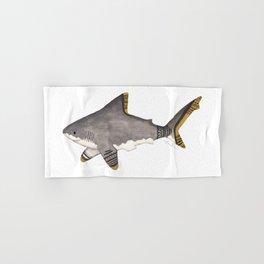 Tribal Shark Hand & Bath Towel