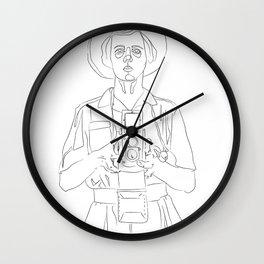 Vivian Maier Wall Clock