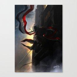 Dans l'ombre de Notre Dame Canvas Print