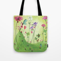 my biggest flower's for you, hun! Tote Bag