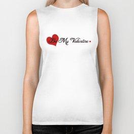 Be My Valentine Biker Tank