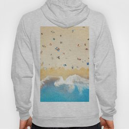 Beach Colors | Aerial Drone Photography  Hoody