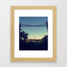 The Bridge - Entrance Pt. 2 Framed Art Print