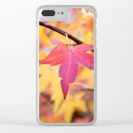 Autumn Still Clear iPhone Case