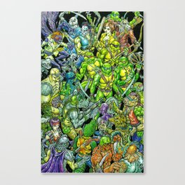 Teenage Mutant Ninja Turtles Shell Shocked Canvas Print