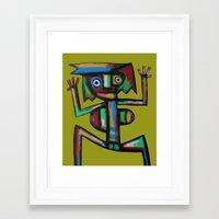 dancer Framed Art Prints featuring Dancer by Rudolf Brancovsky