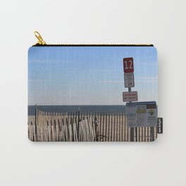 Beach Closed Carry-All Pouch