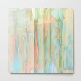 Streaks Of Colors Abstract - Pastel Metal Print