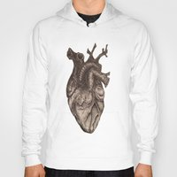 anatomical heart Hoodies featuring Anatomical Heart by Redmonks