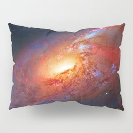 Spiral Galaxy in the Hunting Dogs constellation Pillow Sham