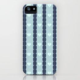 Blue Locket iPhone Case