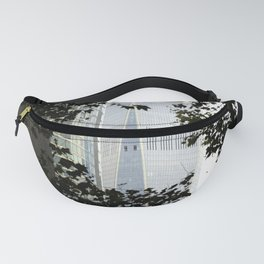 Seeing WTC1 through the Trees Fanny Pack
