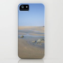 ENDLESS DESERTED BEACH CORNWALL iPhone Case