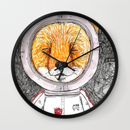 Le Petit Fox  Wall Clock