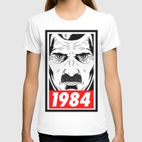 1984 T-shirts featuring OBEY 1984 by MRCRMB