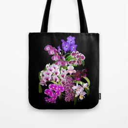 Orchids - Cool colors! Tote Bag