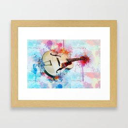 Electric Guitar Framed Art Print