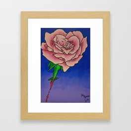 Every Rose has Thorns Framed Art Print