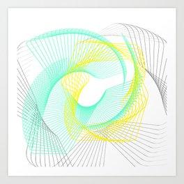 minimal elegant Art Print