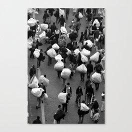 Strade Canvas Print