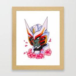Drift sakura Framed Art Print
