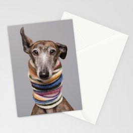 Ray - Galgo Portrait Stationery Cards