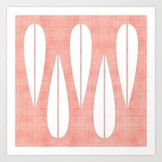 Make Mine MCM Pink Art Print