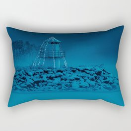 Pier and lighthouse Rectangular Pillow