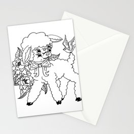 Wholesome Lamb Stationery Cards