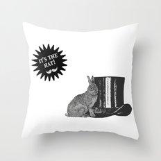 magic rabbit Throw Pillow