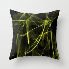Summer lines 3 Throw Pillow