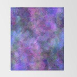 Blueberry Bubbles Throw Blanket