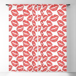 Lots of Kisses Blackout Curtain