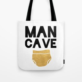 MAN CAVE Kids room Tote Bag
